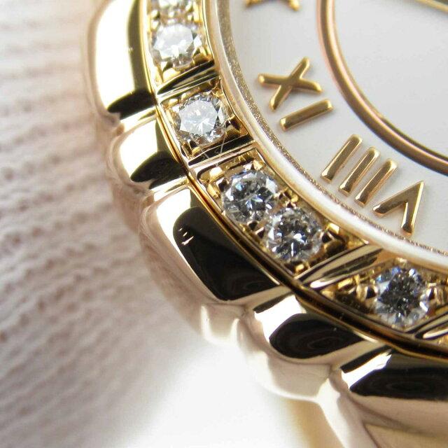 タナグラ ベゼルダイヤ ウォッチ 腕時計