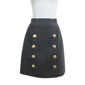 Dolce&Gabbana裙装女士100%羊毛木炭灰[二手] | Dolce&Gabbana BRANDOFF品牌折扣服装品牌下装
