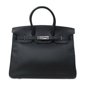 爱马仕Birkin 35手提包女士多哥黑色(银色金属配件)[二手] | HERMES BRANDOFF品牌OFF品牌品牌手提包Back手提包Hand