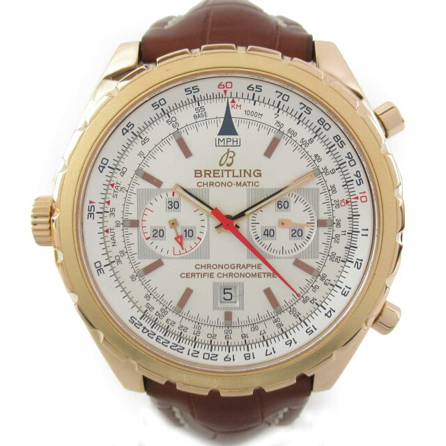 ナビタイマークロノマティック ウォッチ 腕時計
