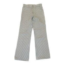 【中古】セリーヌ パンツ 衣料品 レディース コットン x デニム ブラック x ホワイト