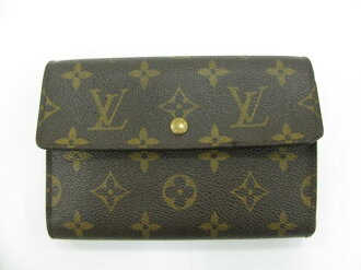 LOUIS VUITTON (Louis Vuitton) / port-torezohletuispapie case with three folding wallet / purse / Monogram / Monogram / (M61202) [BRANDOFF / brand off]