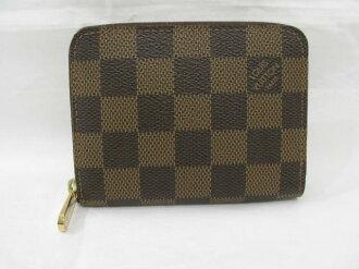 LOUIS VUITTON (Louis Vuitton) put / zippy / coin purse / coin / tea system / Damier / Damier / [BRANDOFF / brand off]