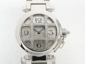 Cartier(カルティエ)/パシャ 32mm/クオーツ//K18WG(750)ホワイトゴール…