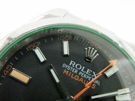 ROLEX(ロレックス)/ミルガウス腕時計ウォッチ/オートマチック//ステンレススチール(SS)/【ランクA】(116400GV)[BRANDOFF/ブランドオフ]【中古】