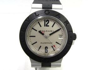 BVLGARI(ブルガリ)/アルミニウム 腕時計 ウォッチ/オートマチック//ステンレススチール(SS)×アルミニウム/【ランク】(AL38A)[BRANDOFF/ブランドオフ]【中古】