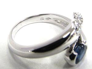アストレア サファイア ダイヤモンド リング