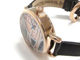 VivienneWestwood(ヴィヴィアンウエストウッド)/LADBROKE2レディースウォッチ腕時計///ピンクゴールドメッキ×レザーベルト/【新品】(VV076RSGY)[BRANDOFF/ブランドオフ]【新品】