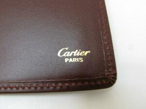 Cartier(カルティエ)/手帳カバー/手帳/ワインレッド/牛革(カーフ)/【ランクA】[BRANDOFF/ブランドオフ]【中古】