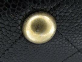 CHANEL(シャネル)/訳ありマトラッセチェーンショルダーバッグ/ショルダーバッグ/ブラック(ゴールド金具)/キャビアスキン/【新品】[BRANDOFF/ブランドオフ]【新品】