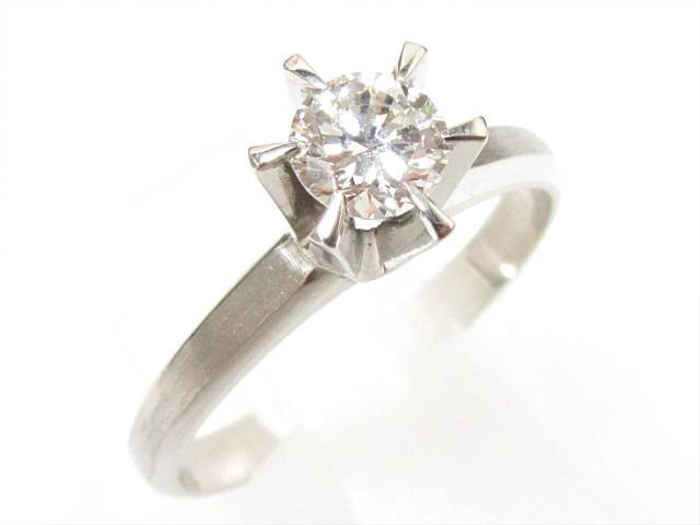 JEWELRY(ジュエリー)/ダイヤモンドリング 指輪/リング/PT900 プラチナxダイヤモンド(0.44ct)/【ランクS】/12.5号[BRANDOFF/ブランドオフ]【中古】:Brandoff銀座
