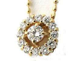 JEWELRY(ジュエリー)/ダイヤモンドネックレス/ネックレス/K18YG(750)イエローゴールドダイヤモンド0.20ct/【新品】[BRANDOFF/ブランドオフ]【新品】