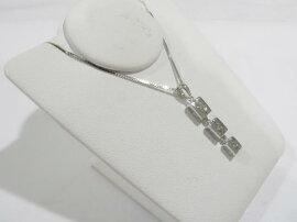 JEWELRY(ジュエリー)/ダイヤモンドネックレス/ネックレス/K18WG(750)ホワイトゴールドxダイヤモンド(0.15ct)/【新品】[BRANDOFF/ブランドオフ]【新品】