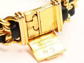 CHANEL(シャネル)/プルミエールL腕時計ウォッチ/クオーツ/ゴールド×ブラック/レザーベルト/【ランクB】(H6001)[BRANDOFF/ブランドオフ]【】