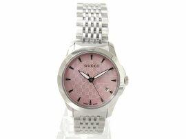 GUCCI(グッチ)/Gタイムレス腕時計ウォッチ/クオーツ/ピンク/ステンレススチール(SS)/【新品】(YA126532)[BRANDOFF/ブランドオフ]【新品】