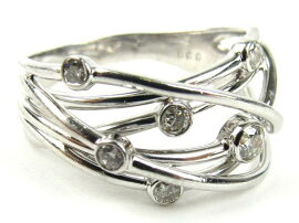 JEWELRY(ジュエリー)/ダイヤモンドリング指輪/リング/K18WG(750)ホワイトゴールドxダイヤモンド0.30ct/【ランクA】/12.5号[BRANDOFF/ブランドオフ]【】