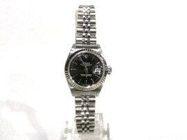 ROLEX(ロレックス)/デイトジャスト腕時計ウォッチ/オートマチック/ブラック/ステンレススチール(SS)/【ランクA】(79174)[BRANDOFF/ブランドオフ]【】