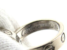 Cartier(カルティエ)/ベビーラブネックレス/ネックレス/K18WG(750)ホワイトゴールド/【ランクA】[BRANDOFF/ブランドオフ]【】