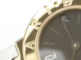 BVLGARI(ブルガリ)/ブルガリブルガリ腕時計ウォッチ/クオーツ/ブラック/K18YG(750)イエローゴールドステンレススチール(SS)/【ランクA】(BB23SGD)[BRANDOFF/ブランドオフ]【】