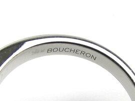 BOUCHERON(ブシュロン)/ピンクサファイアタンタシオンマカロンリング指輪/リング/K18WG(750)ホワイトゴールドxピンクサファイア/【ランクA】[BRANDOFF/ブランドオフ]【】