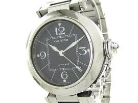 Cartier(カルティエ)/パシャCウォッチ腕時計ボーイズ/オートマチック/ブラック/ステンレススチール(SS)/【ランクA】(W31075M7)[BRANDOFF/ブランドオフ]【】