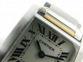 Cartier(カルティエ)/タンクフランセーズSM腕時計ウォッチ/クオーツ/アイボリー/K18YG(750)イエローゴールドステンレススチール(SS)/【ランクA】(W51007Q4)[BRANDOFF/ブランドオフ]【】