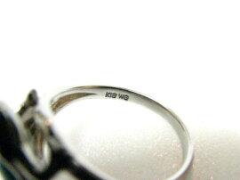JEWELRY(ジュエリー)/ターコイズリング指輪/リング/K18WG(750)ホワイトゴールドターコイズ/【ランク】(ターコイズ)/9号[BRANDOFF/ブランドオフ]【】