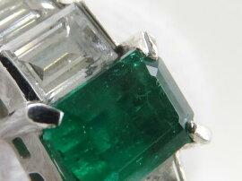 JEWELRY(ジュエリー)/エメラルドダイヤモンドリング指輪/リング/グリーン/K18YG(750)イエローゴールド×エメラルド0.86ct×ダイヤモンド0.71ct/【ランクA】/21号ブランドオフ【】