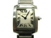 Cartier(カルティエ)/タンクフランセーズSM 腕時計 ウォッチ/クオーツ/アイボリー/ステンレススチール(SS)/【ランクA】(W51008Q3)[BRANDOFF/ブランドオフ]【中古】