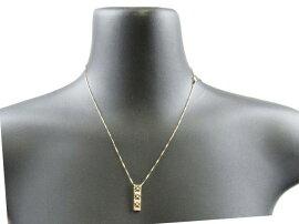 JEWELRY(ジュエリー)/ダイヤモンドネックレス/ネックレス/K18PG(750)ピンクゴールドxダイヤモンド0.03ct/【新品】[BRANDOFF/ブランドオフ]【新品】
