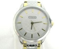 COACH(コーチ)/クラシックシグネチャー腕時計ウォッチ/クオーツ/ステンレススチール(SS)/【新品】(14501610)[BRANDOFF/ブランドオフ]【新品】