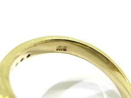 JEWELRY(ジュエリー)/ダイヤモンドリング指輪/リング/K18YG(750)イエローゴールド×ダイヤモンド0.22ct×緑石(石目無し)/【ランクA】/11号[BRANDOFF/ブランドオフ]【】