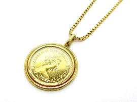 JEWELRY(ジュエリー)/コイン/コイン/K18YG(750)イエローゴールドK24YG/【ランクA】[BRANDOFF/ブランドオフ]【】