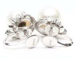 JEWELRY(ジュエリー)/パールダイヤモンドイヤリング/イヤリング/PT900プラチナPt850xパールxダイヤモンド(0.05ct)/【ランクA】[BRANDOFF/ブランドオフ]【】