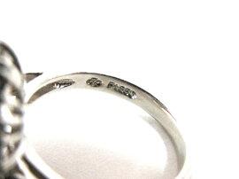 JEWELRY(ジュエリー)/キャッツアイリング指輪/リング/シルバー/PT850プラチナ×ダイヤモンド(D1.50ct)×キャッツアイ(2.66ct)/【ランクA】/12号[BRANDOFF/ブランドオフ]【】