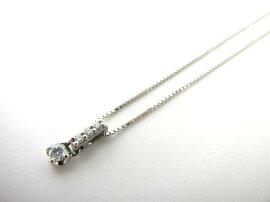 courreges(クレージュ)/クレージュダイヤモンドネックレス/ネックレス/PT900プラチナ×PT850プラチナ×ダイヤモンド(0.09ct)/【ランクA】[BRANDOFF/ブランドオフ]【】