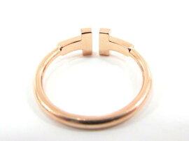TIFFANY&CO(ティファニー)/Tワイヤーリングダイヤ/リング/K18PG(750)ピンクゴールドダイヤモンド/【ランクA】/13号[BRANDOFF/ブランドオフ]【】
