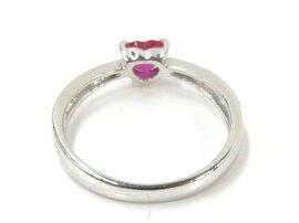 JEWELRY(ジュエリー)/ルビーダイヤモンドリング指輪/リング/PT900プラチナ×ルビー(0.51ct)×ダイヤモンド(0.51ct)/【ランクA】/11号[BRANDOFF/ブランドオフ]【】