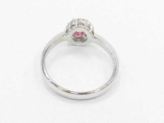 ルビー ダイヤモンド リング 指輪