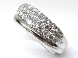 JEWELRY(ジュエリー)/ダイヤモンドリング指輪/リング/K18WG(750)ホワイトゴールドxダイヤモンド(1.0ct)/【ランクA】[BRANDOFF/ブランドオフ]【】