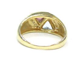 JEWELRY(ジュエリー)/ダイヤモンドリング色石指輪/リング/K18YG(750)イエローゴールド×ダイヤモンド(0.07)/【ランクA】/10.5号[BRANDOFF/ブランドオフ]【】
