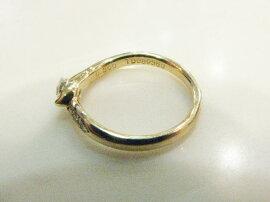JEWELRY(ジュエリー)/ダイヤモンドリング指輪/リング/K18YG(750)イエローゴールド×ダイヤモンド(0.20ct/0.05ct)/【ランクA】/11号[BRANDOFF/ブランドオフ]【】
