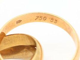 Cartier(カルティエ)/トリニティリング指輪/リング/K18YG(750)イエローゴールドxK18WGホワイトゴールドxK18PGピンクゴールド/【ランクA】/#53/9号[BRANDOFF/ブランドオフ]【】