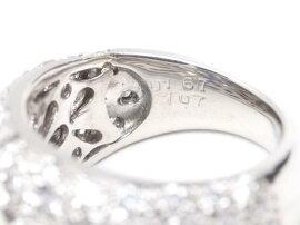 JEWELRY(ジュエリー)/ダイヤモンドサファイアリング指輪/リング/PT900プラチナxダイヤモンド(1.67ct)xサファイア(1.07ct)/【ランクA】/8.5号[BRANDOFF/ブランドオフ]【】