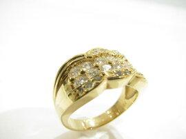 JEWELRY(ジュエリー)/ダイヤモンドリング指輪/リング/K18YG(750)イエローゴールド×ダイヤモンド(1.01ct)/【ランクA】/11.5号[BRANDOFF/ブランドオフ]【】