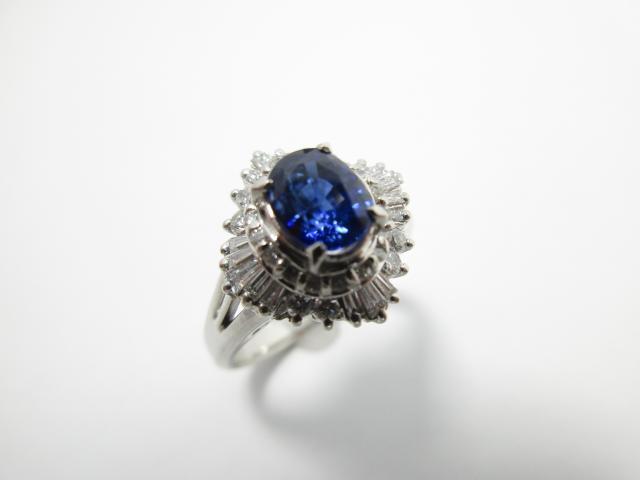 サファイア ダイヤモンド リング
