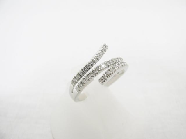 JEWELRY(ジュエリー)/リング/リング/K18WG(750) ホワイトゴールド×ダイヤモンド0.33ct/【ランクA】(ダイヤ 3.8g)/13号[BRANDOFF/ブランドオフ]【中古】:Brandoff銀座
