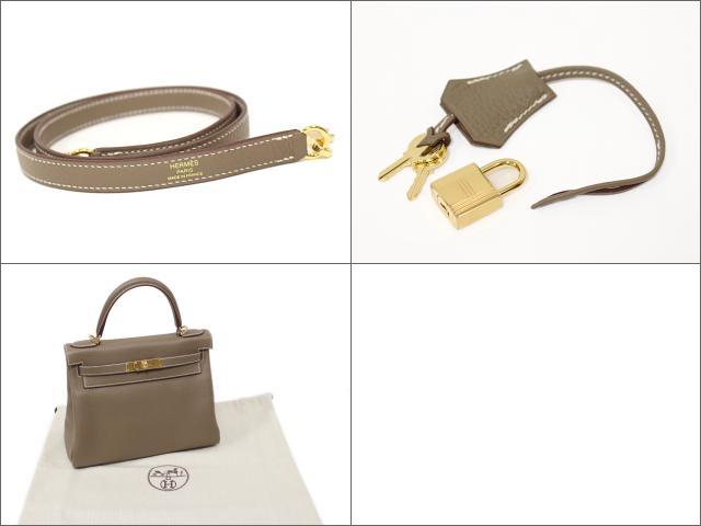 ケリー28 内縫い ハンドバッグ