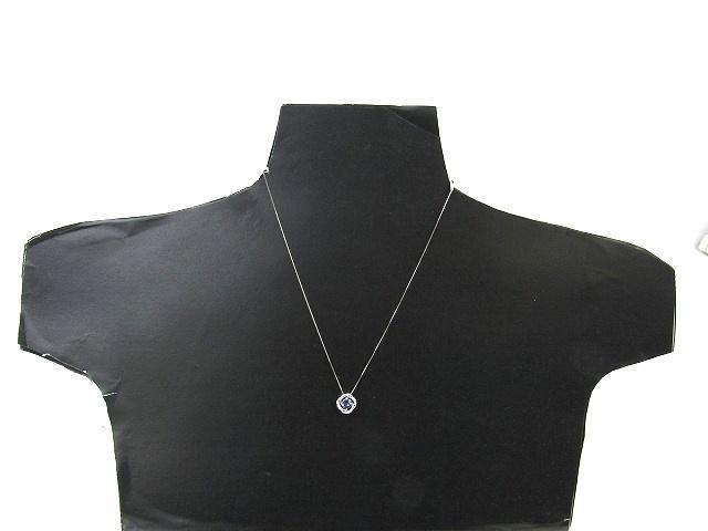 タンザナイト ダイヤモンド ネックレス