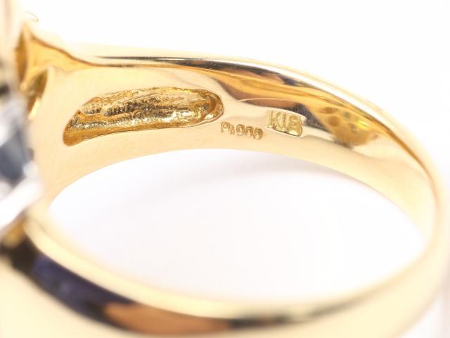 ペリドット ダイヤモンド リング 指輪